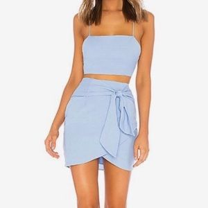 By the way Milah Wrap Skirt